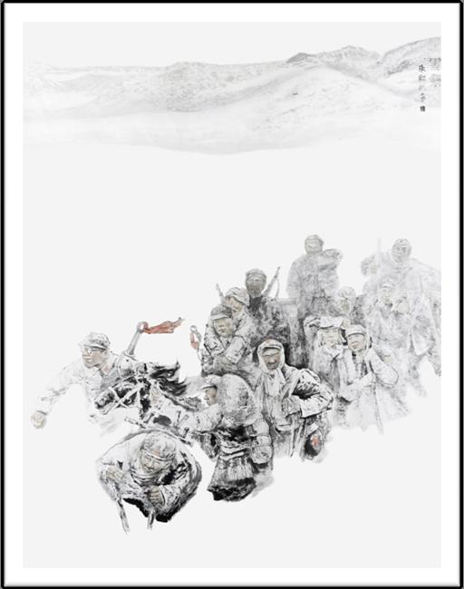 8 雪祭 240x193cm 纸本设色 2016年 张翔洲.jpg