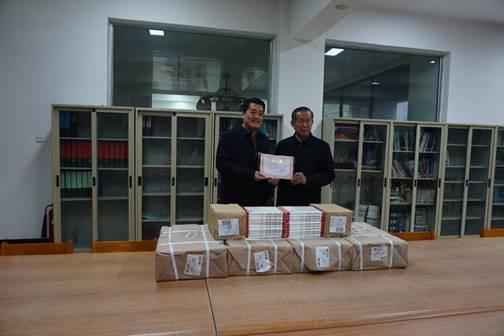 情系教育,传递书香——山西省人民教育基金会图书捐赠仪式在图书馆举行
